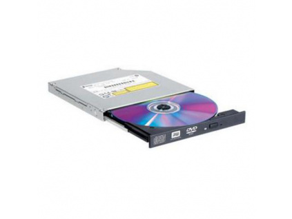 LG GTC0N DVD±RW SLIM 12.7mm pro NB - černá bare, rychlost 8x, SATA, výška 12,7 mm, GTC0N.AUAA10B