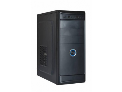 EUROCASE ML X401 ATX case (2x USB, 2x audio, bez zdroje)
