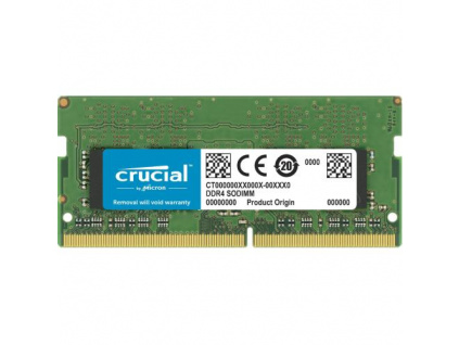 CRUCIAL 4GB DDR4 SO-DIMM 2666MHz CL19 1.2V, CT4G4SFS8266