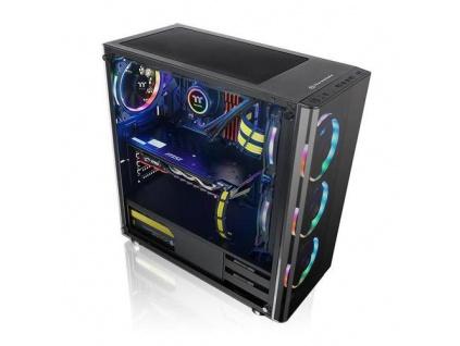 THERMALTAKE case V200 TG černý s oknem, 1x TG, 1x fan 120mm (ATX case bez zdroje)