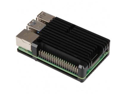 RASPBERRY case Armor pro Raspberry Pi 4 B, černá (Joy-it)