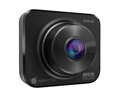 NAVITEL AR200 NV FHD kamera do auta (driver cam 1920x1080, lcd 2 in 480x240) černá