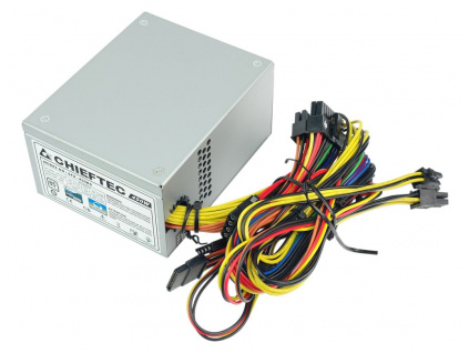 CHIEFTEC zdroj SFX-450BS / 450W / SFX formát / 80mm fan / akt. PFC / 85+ / bulk, SFX-450BS