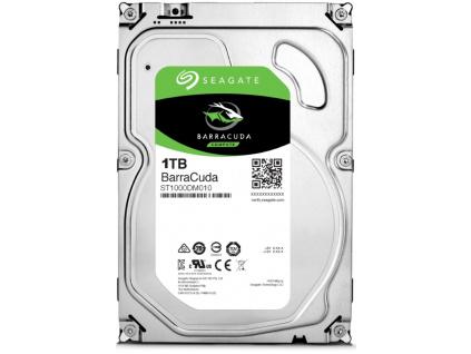 """Seagate BarraCuda 1TB HDD / ST1000DM010 / Interní 3,5"""" / 7200 rpm / SATA 6Gb/s / 64MB"""