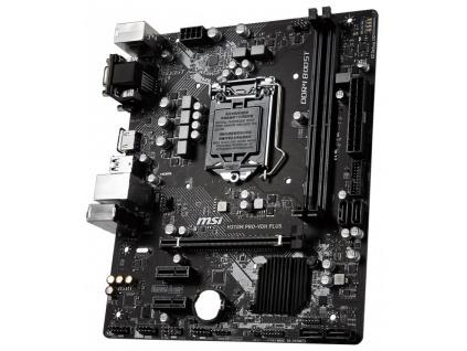 MSI H310M PRO-VDH PLUS / LGA1151 / H310 / 2x DDR4 DIMM / DVI / HDMI / mATX