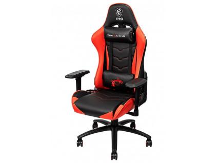 MSI herní/kancelářská židle MAG CH120/ černočervená