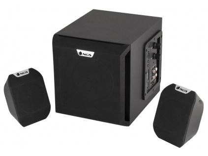 NGS repro COSMOS/ 2.1/ 36W/ USB/ Slot na SD karty/ Černé