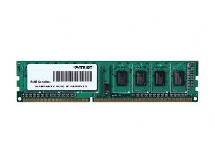 PATRIOT Signature 4GB DDR3L 1600MHz / DIMM / CL11 / 1,35V, PSD34G1600L81