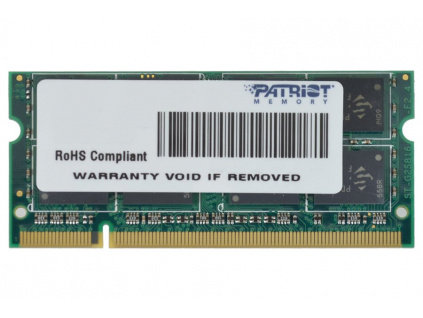 PATRIOT Signature 2GB DDR2 800MHz / SO-DIMM / CL6 / SL PC2-6400, PSD22G8002S