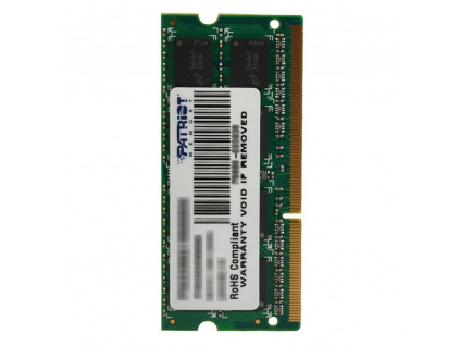 PATRIOT Signature 4GB DDR3 1600MHz / SO-DIMM / CL11 / PC3-12800, PSD34G16002S