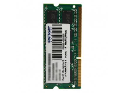PATRIOT Signature 4GB DDR3 1600MHz / SO-DIMM / CL11 / PC3-12800