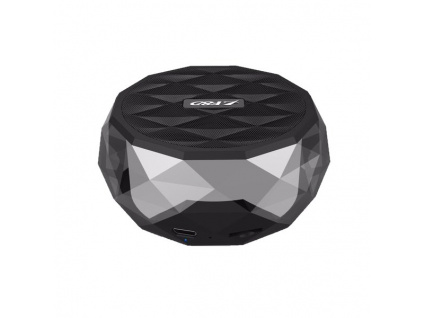 FENDA F&D repro W3/ černé/ bezdrátové/ 3W/ BT4.0/ multibarevné podsvícení/ MicroSD, W3 (black)
