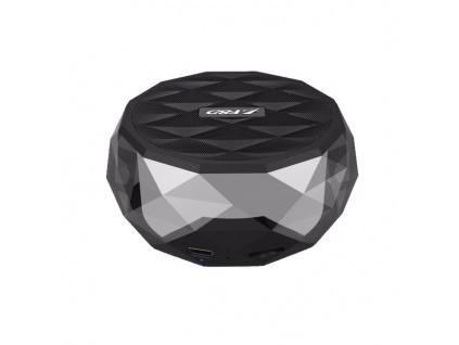 FENDA F&D repro W3/ černé/ bezdrátové/ 3W/ BT4.0/ multibarevné podsvícení/ MicroSD