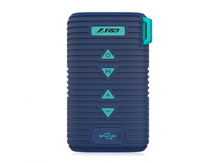 FENDA F&D repro W6T/ modré/ outdoor/ IPX5/ bezdrátové/ 5W/ BT4.1/ MicroSD, W6T (blue)
