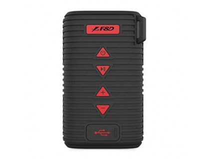 FENDA F&D repro W6T/ černé/ outdoor/ IPX5/ bezdrátové/ 5W/ BT4.1/ MicroSD, W6T (black)