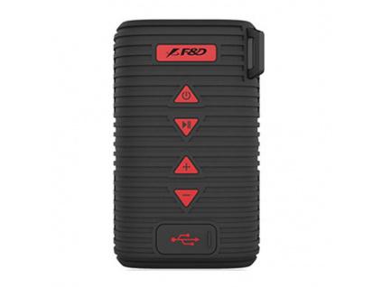 FENDA F&D repro W6T/ černé/ outdoor/ IPX5/ bezdrátové/ 5W/ BT4.1/ MicroSD