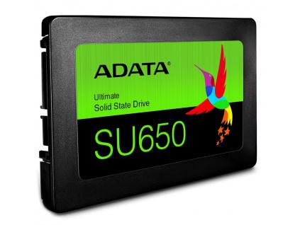 "ADATA SU650 120GB SSD / Interní / 2,5"" / SATAIII / 3D NAND, ASU650SS-120GT-R"