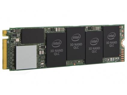 INTEL 660p series 512GB SSD/ Interní / M.2 / PCIe NVMe 3.0 / 2280 / 3D2 QLC, SSDPEKNW512G8X1