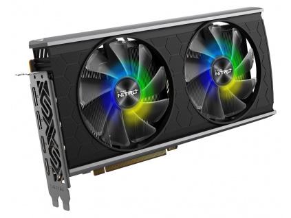 SAPPHIRE NITRO+ RADEON RX 5500 XT 8G OC / 8GB GDDR6 / PCI-E / 2x HDMI / 2x DP / speciální edice, 11295-05-20G