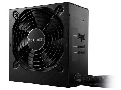 Be quiet! / zdroj SYSTEM POWER 9 400W CM / active PFC / 120mm fan / odpojitelné kabely / 80PLUS Bronze