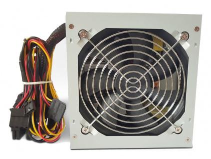 CRONO zdroj PS400P/Gen2/ 400W/ 12cm fan/ 2x SATA/ druhá generace/ pasivní PFC/ retail balení/ 85+ Bronze/ šedý