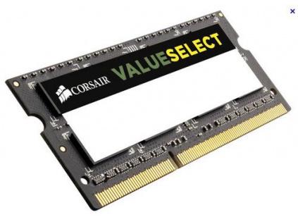 CORSAIR 4GB SO-DIMM DDR3L PC3-12800 1600MHz 1.35V CL11-11-11-28 (4096MB)