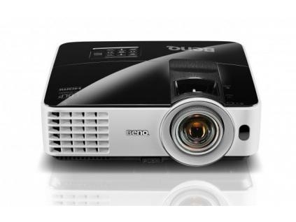 BenQ DLP Projektor MX631ST 3D/XGA 1024x768/3200 ANSI lm/13000:1/HDMI/USB/1x10W repro/Short Throw
