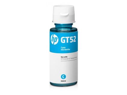 HP M0H54AE Originální lahvička s azurovým inkoustem HP GT52 cca 8 000 stran, M0H54AE