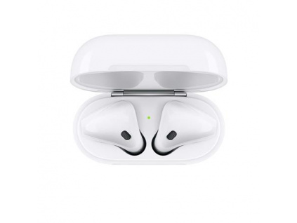 Apple AirPods bezdrátová sluchátka (2019) bílá