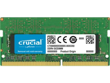 SO-DIMM 4GB DDR4 2666MHz Crucial CL19, CT4G4SFS8266