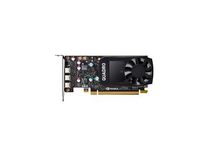 HP NVIDIA Quadro P400 2GB Kit w/2 Adapters