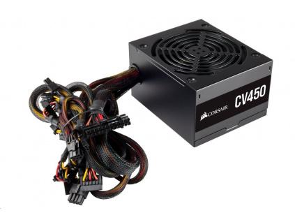 CORSAIR zdroj, CV450 80+ Bronze, 120mm ventilátor (ATX, 450W), CP-9020209-EU