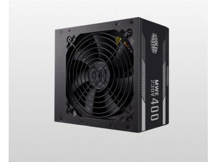Cooler Master zdroj MWE White 400W V2, 120mm, 80+, MPE-4001-ACABW-EU