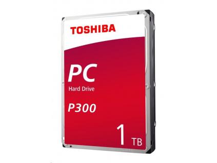 "TOSHIBA HDD P300 1TB, SATA III, 7200 rpm, 64MB cache, 3,5"""