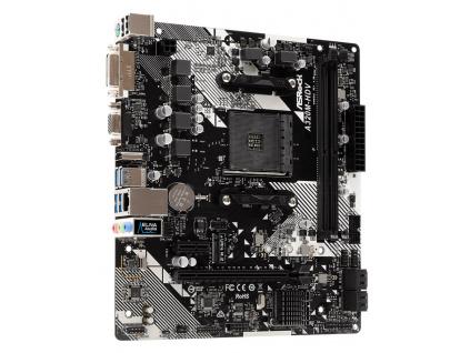 ASRock A320M-HDV R4.0/ A320 / AM4 / 2x DDR4 DIMM / 1x M.2 / HDMI / DVI-D / D-Sub / mATX, A320M-HDV R4.0