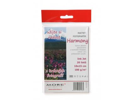 Armor fotopapír Harmony 180g 10x15 matt 20ks, M10531