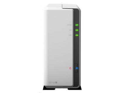 Synology DS120j DiskStation (2C/Armada3700/800MHz/512MBRAM/1xSATA/2xUSB2.0/1xGbE)