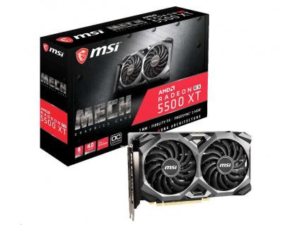 MSI VGA AMD Radeon™ RX 5500 XT MECH 8G OC, 8GB GDDR6, 3xDP, 1xHDMI  + Akční bundle hry ZDARMA v hodnotě 2599,- Kč