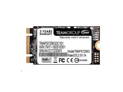 Team SSD M.2 256GB, MS30 2242