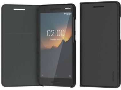Nokia Slim Entertainment Flip cover CP-220 for Nokia 2.1 Black