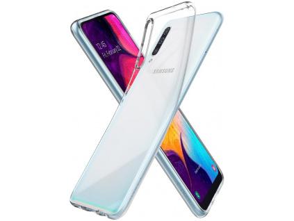 Ochranný kryt Spigen Liquid Crystal pro Samsung Galaxy A50 transparentní