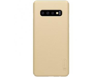 Nillkin Super Frosted Zadní Kryt Gold pro Samsung Galaxy S10+, 6902048171732