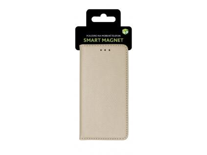 Cu-Be Pouzdro s magnetem Xiaomi Mi A3 Gold, 8595680408793