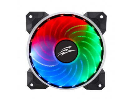 EVOLVEO 12R1R, Rainbow, PWM, 6pin, 5V RGB ventilátor 120mm