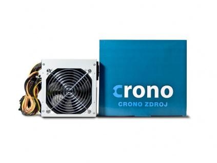Crono zdroj 400 W, 12cm fan, Passive PFC, CROPS400P/Gen2