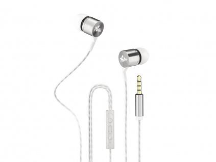 Sluchátka do uší Audictus Explorer 2.0, bílé, AWE-1504