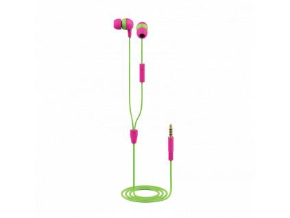 TRUST BUDDI KIDS IN-EAR HEADPHONES PINK, 23420