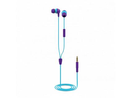 TRUST BUDDI KIDS IN-EAR HEADPHONES PURPLE, 23422