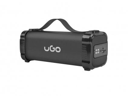 Bluetooth reproduktor UGO Mini Bazooka 2.0 5W, stereo, 1200 mAh, FM radio, USB, AUX, UBS-1484