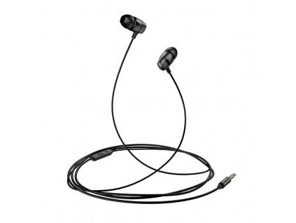 USAMS EP-36 In-Ear Steel Stereo Headset 3,5mm Black